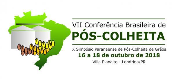 ÚLTIMOS DIAS PARA INSCRIÇÃO PELO SITE - VII CONFERÊNCIA BRASILEIRA DE PÓS-COLHEITA DE GRÃOS