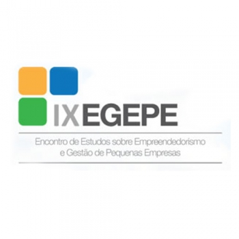 IX EGEPE - Encontro de Estudos sobre Empreendedorismo e Gestão de Pequenas Empresas